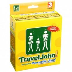 TRAVELJOHN Disposable...