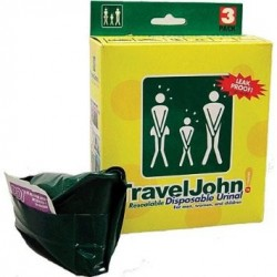 TRAVELJOHN Disposable...